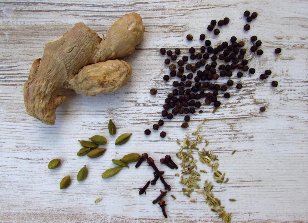 Selbstgemachtes Chai Extrakt