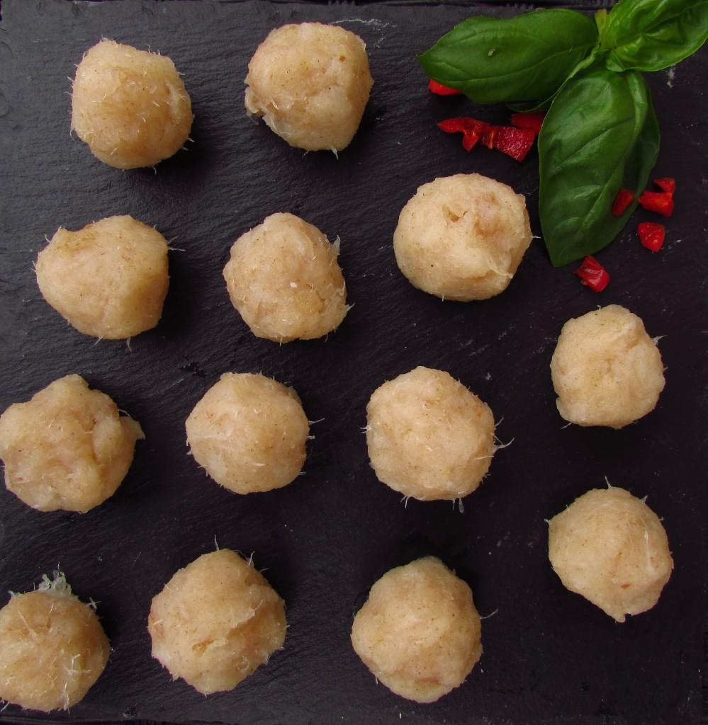 Fisch-Dumplings