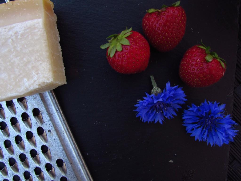Erdbeerrisotto Zutaten