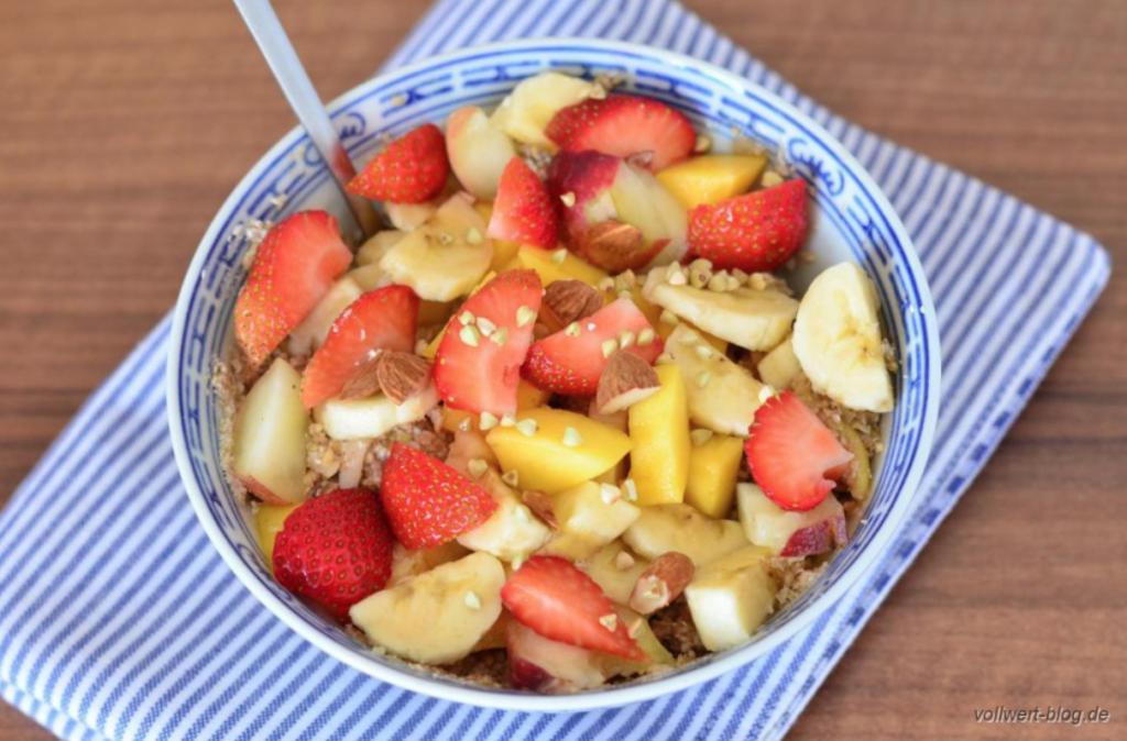 Frischkornmüsli vom vollwert-blog