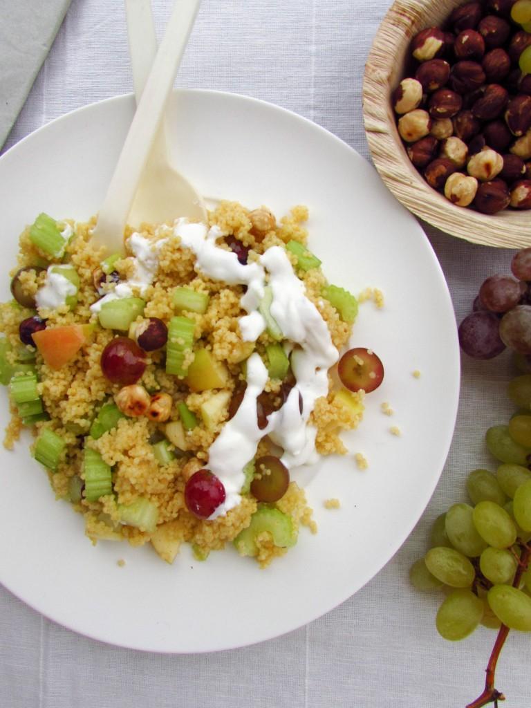 Herbstlicher Hirsesalat