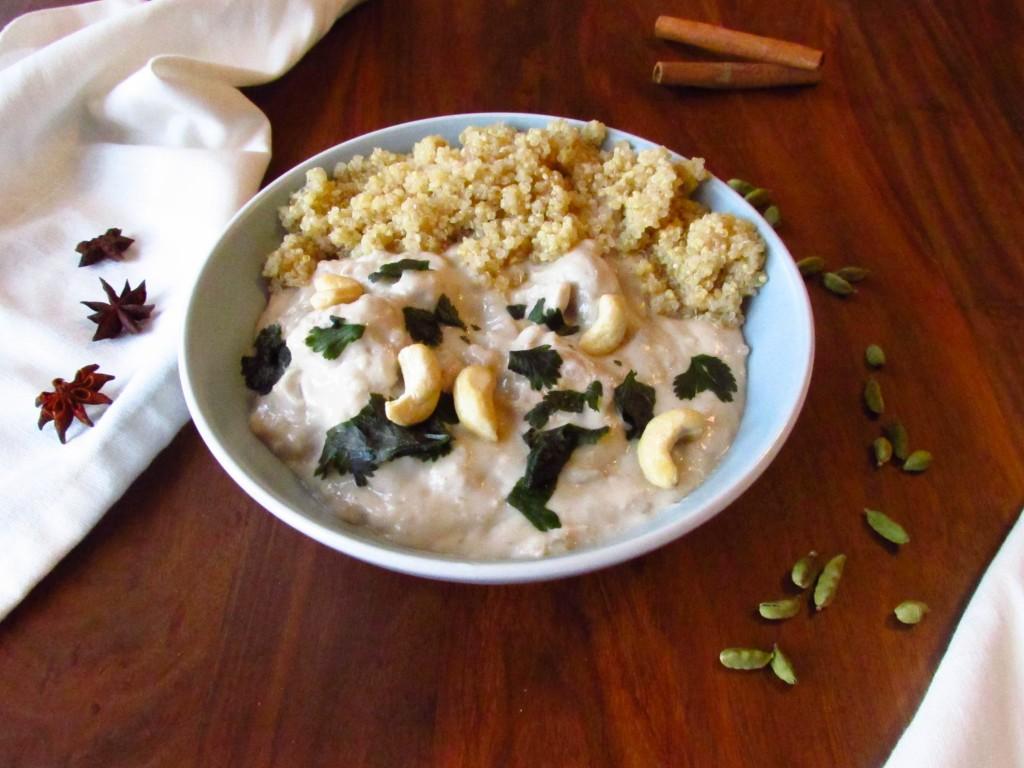 Genial schnelles Chai-Chicken Korma