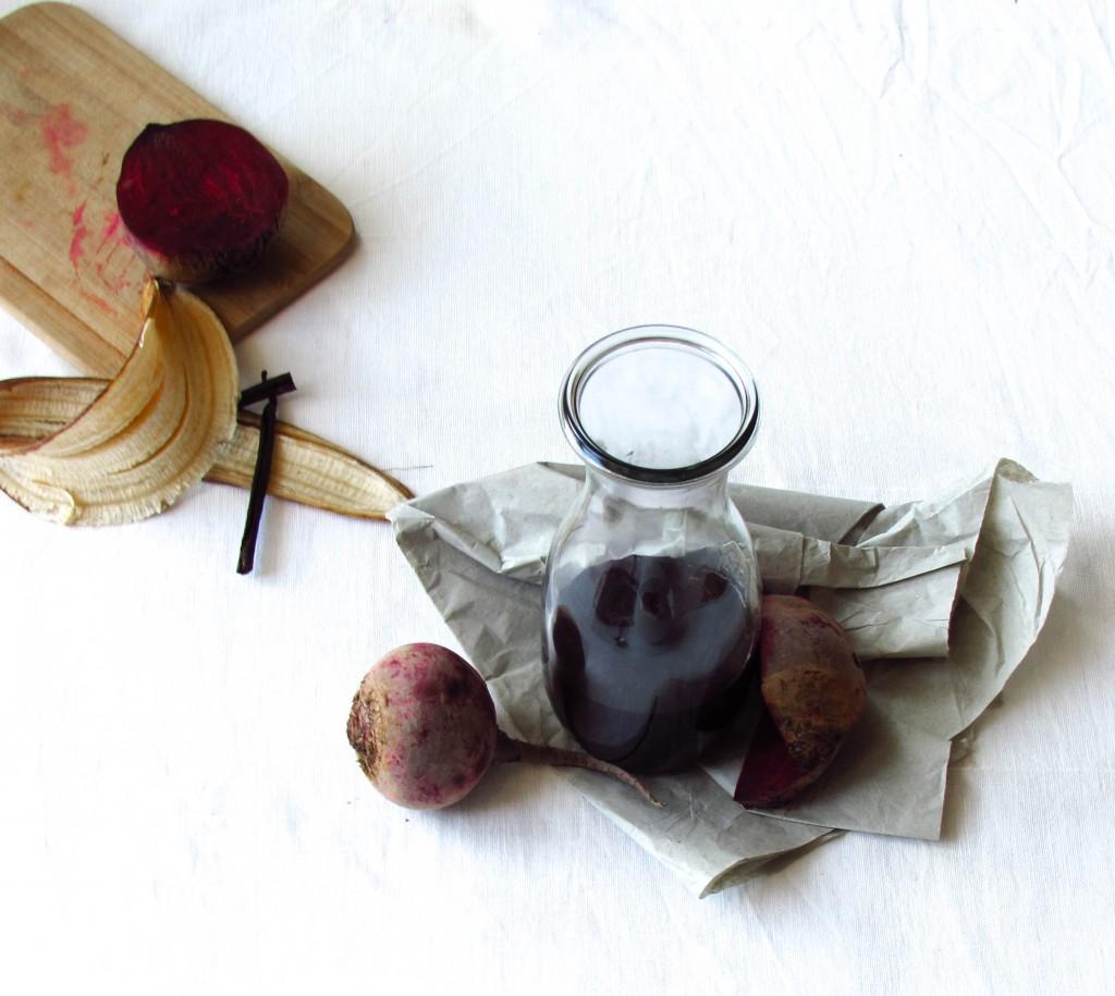 Pink Porridge mit Roter Bete und Vanille + Baut Rote Bete Blut auf?