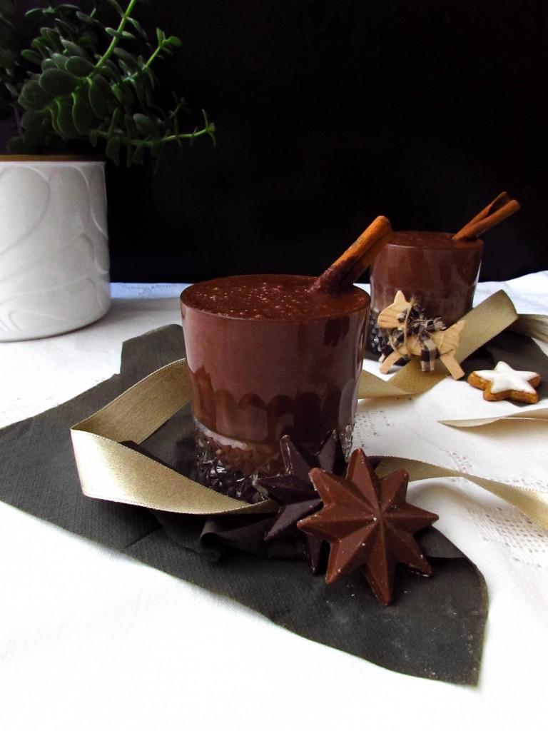 Luxuriöse Heiße Schokolade ohne Reue (mit Datteln gesüßt&vegan)