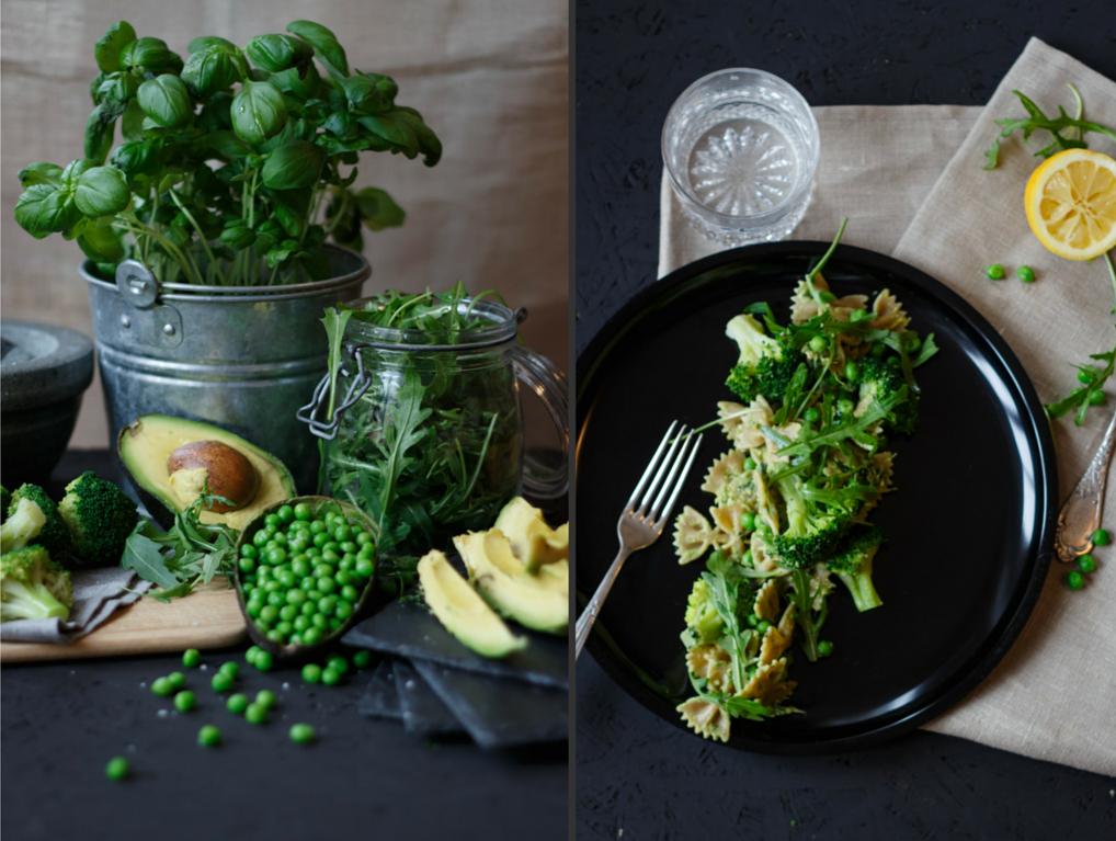 Pasta Deluxe mit veganem Pesto