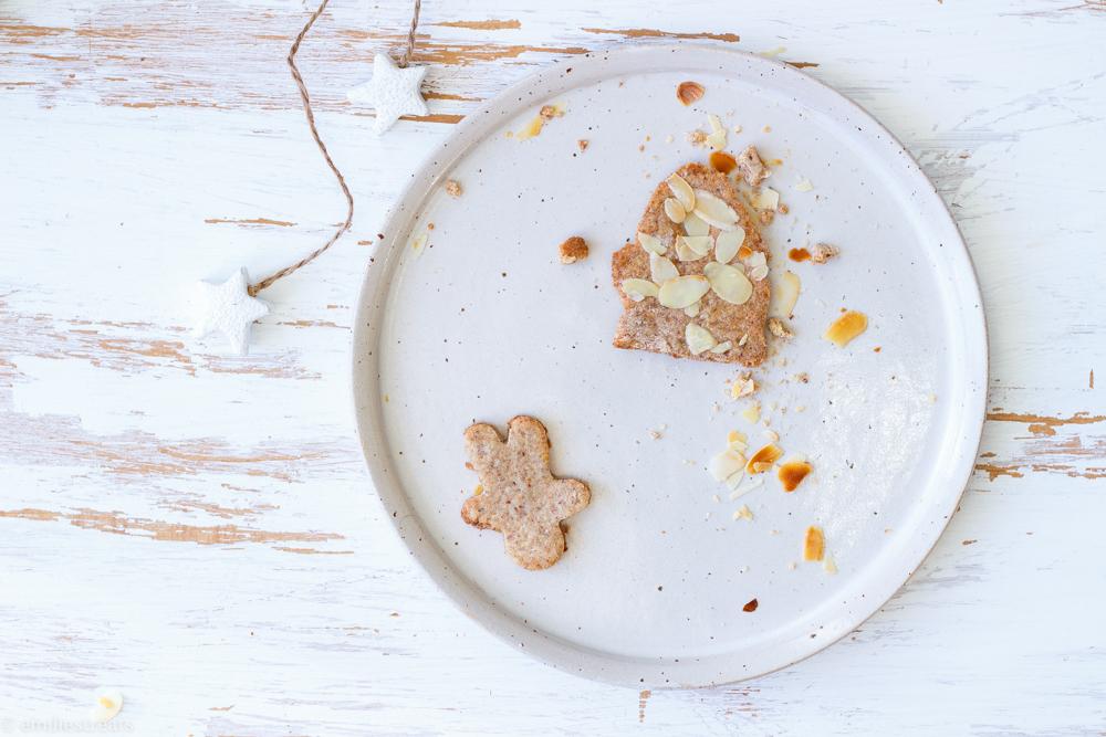 Klassische Butter- und Vollkornspekulatius