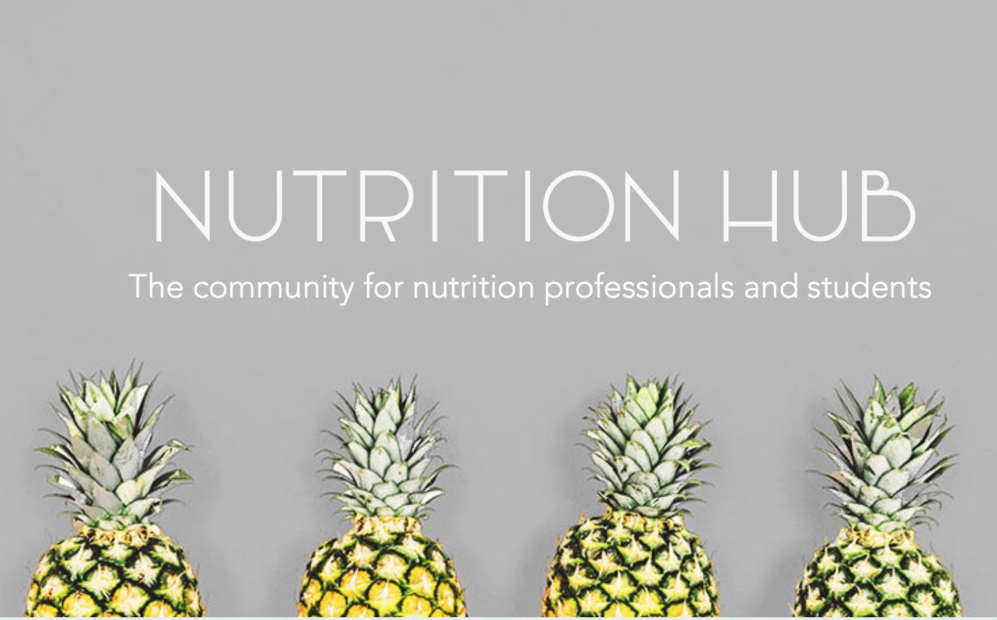 Nutrition Hub- die Community für ErnährungswissenschaftlerInnen