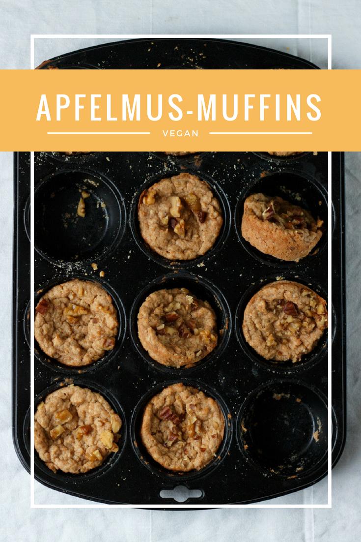 Vegane Apfelmus Muffins Aus 5 Zutaten