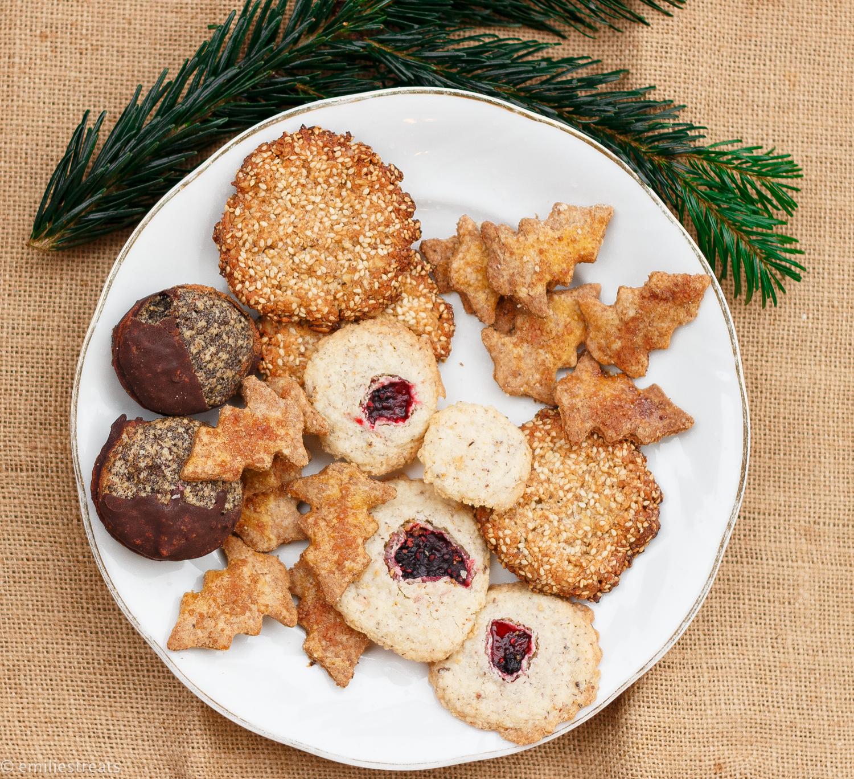 Glutenfreie Schneeflocken-Kekse