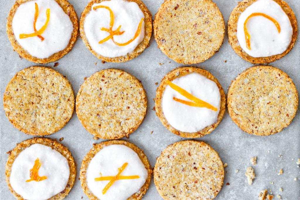 Glutenfreie Kekse mit Kokosmehl und Grapefruitsaft