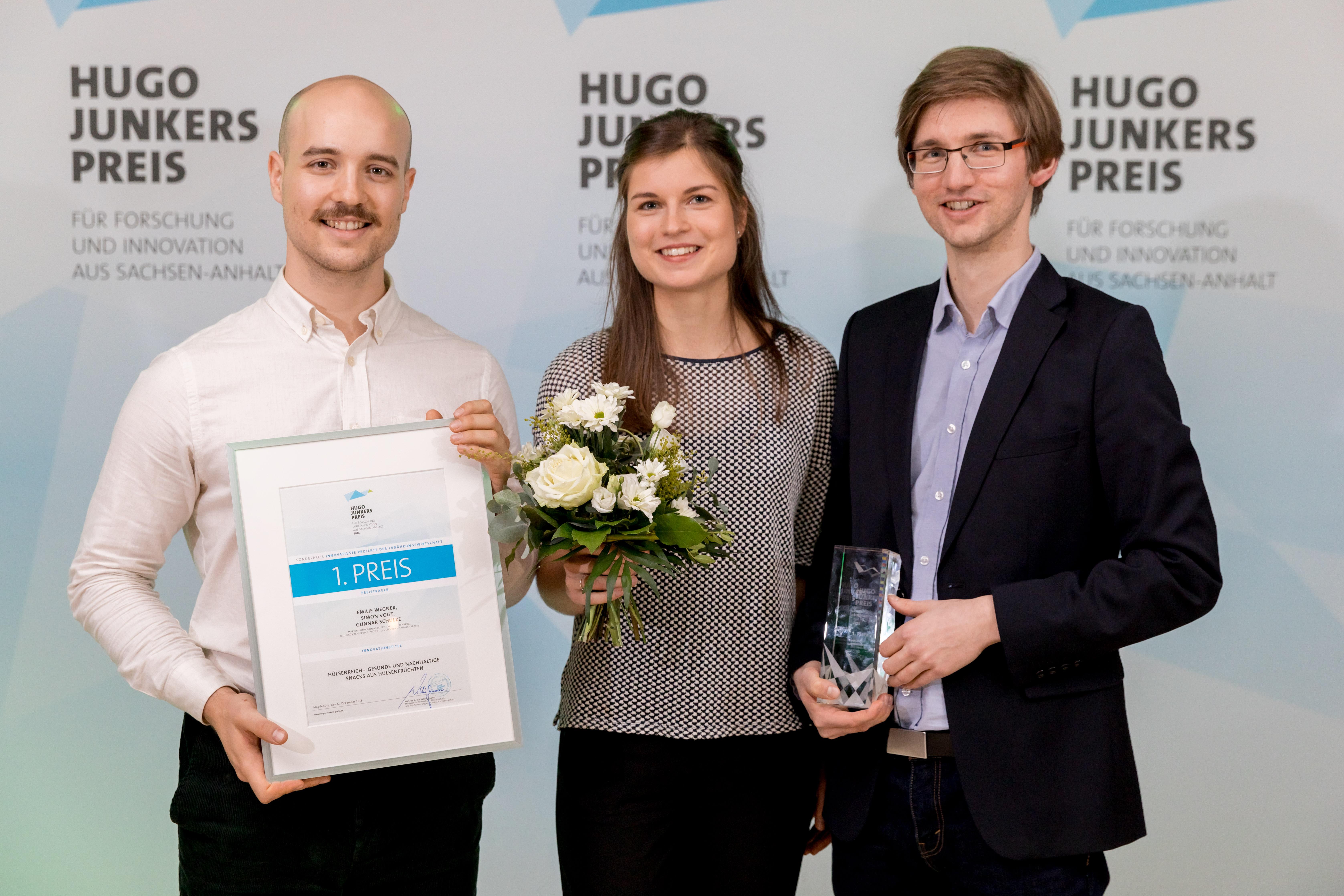 Hülsenreich Gewinner Hugo-Junkers-Preis 2018