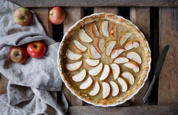 Apfelmus-Tarte