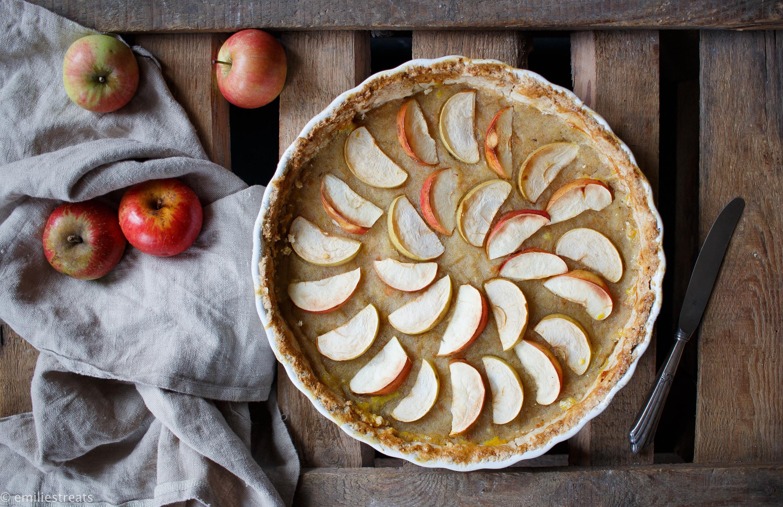 Apfelmus Apfel Tarte Mit Feinem Murbeteigboden Glutenfrei