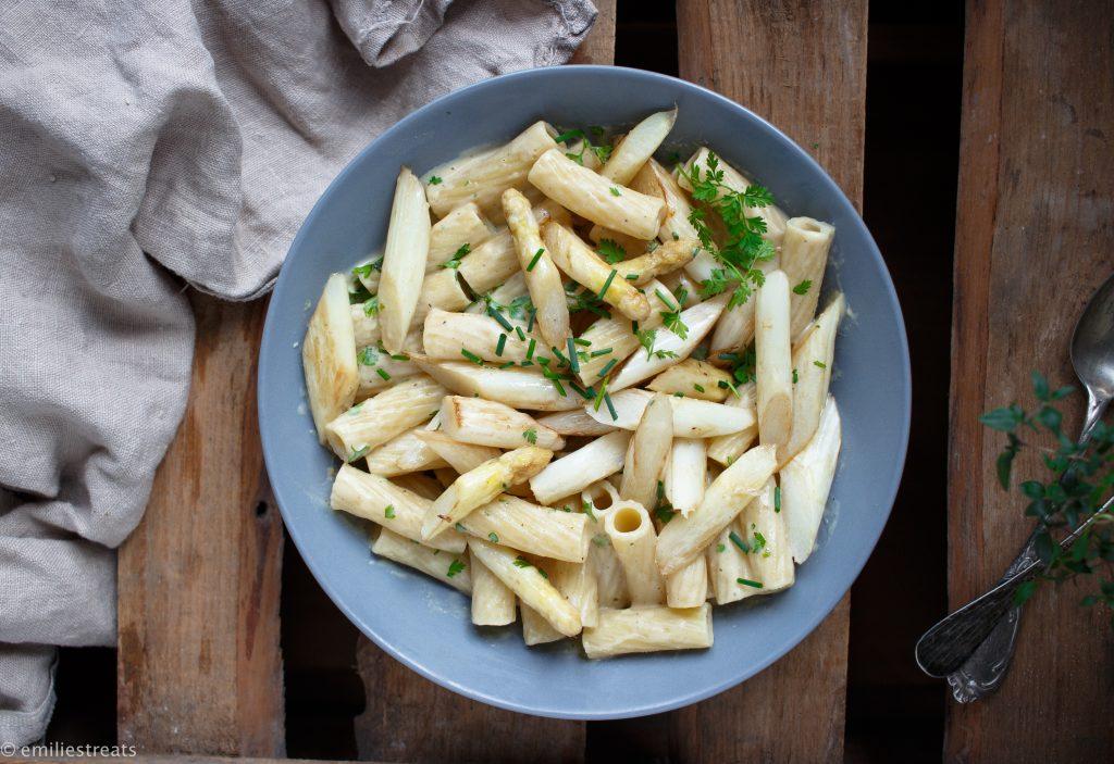 Spargel-Creme Pasta